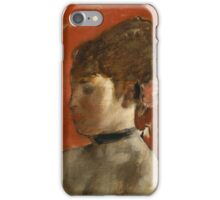 Edgar Degas - Ballet Dancer with Arms Crossed ( 1872)  Impressionism iPhone Case/Skin
