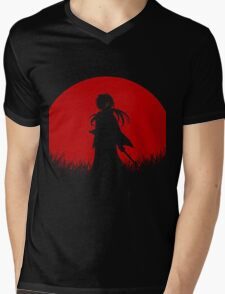 Samurai x Mens V-Neck T-Shirt
