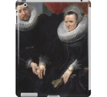 Anthony van Dyck - Portrait of a Married Couple  1617–1618 iPad Case/Skin