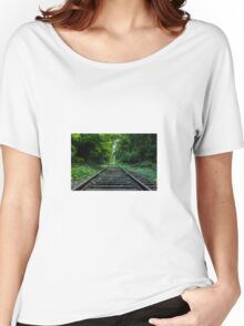 Railroad Women's Relaxed Fit T-Shirt