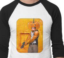 Pumpkin Assassin Men's Baseball ¾ T-Shirt