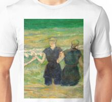 1885 - Gauguin - Women Bathing Unisex T-Shirt