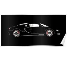 2008 Bugatti Veyron 16.4 CR By Customrides Poster