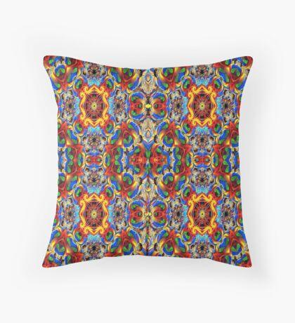 Persian pattern Throw Pillow