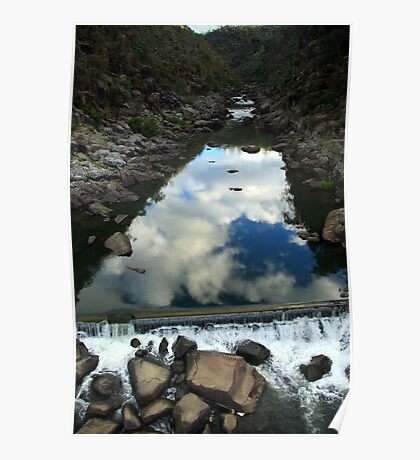 Rocks 'n Reflections - Historic Cataract Gorge Poster