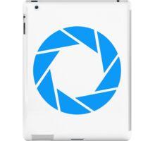 Aperture science logo merch! iPad Case/Skin
