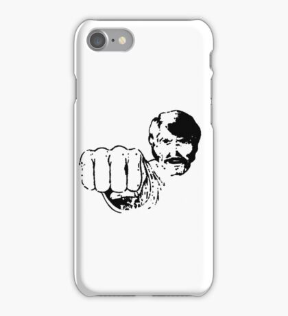 Black Belt Hero iPhone Case/Skin