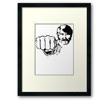 Black Belt Hero Framed Print
