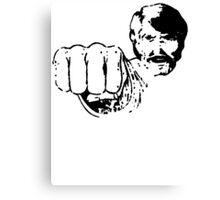 Black Belt Hero Canvas Print