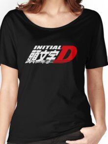 Initial D Women's Relaxed Fit T-Shirt