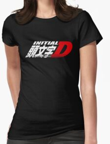 Initial D Womens Fitted T-Shirt