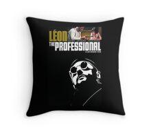 leon the professional Throw Pillow
