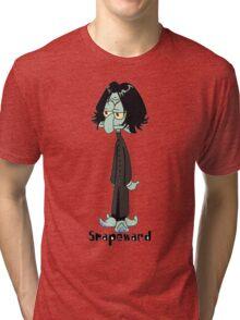 Sponge bob harry potter Tri-blend T-Shirt