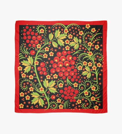Wild Berries and Flowers Scarf