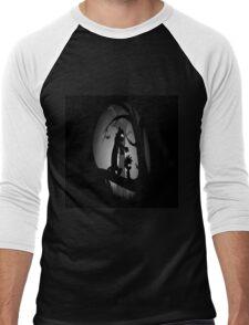 Calvin and Hobbes Horror  Men's Baseball ¾ T-Shirt