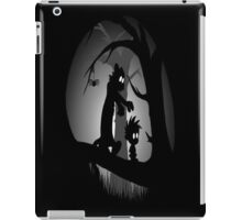 Calvin and Hobbes Horror  iPad Case/Skin