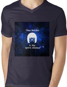 Tina Belcher  Is My Spirit Animal  Mens V-Neck T-Shirt