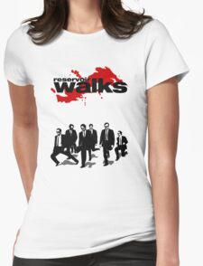 Reservoir Walks Womens Fitted T-Shirt