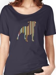 Staffordshire Bull Terrier Women's Relaxed Fit T-Shirt