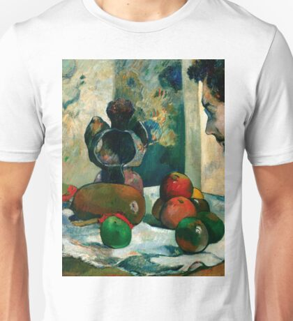 1886 - Gauguin - Still Life with Profile of Laval Unisex T-Shirt