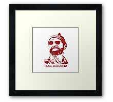 Team Zissou Framed Print