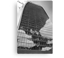 Black and White Walkie-Talkie, London Canvas Print