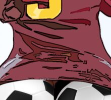 Footie Bum Bum Sticker
