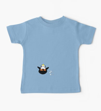 Overfed Penguin Baby Tee