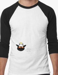 Overfed Penguin Men's Baseball ¾ T-Shirt