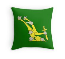 The original Starry Plough flag flown during the Easter rising Throw Pillow