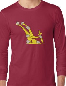 The original Starry Plough flag flown during the Easter rising Long Sleeve T-Shirt