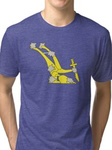 The original Starry Plough flag flown during the Easter rising Tri-blend T-Shirt