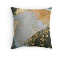 Gustav Klimt  - Danae Throw Pillow