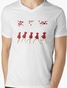 5 Lil Reds I Mens V-Neck T-Shirt