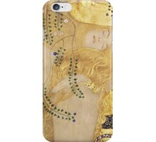 Gustav Klimt  - Water Serpents iPhone Case/Skin