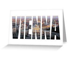 Vienna Greeting Card