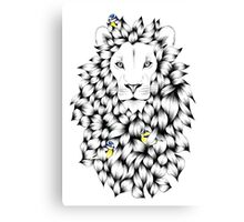 'Lion' (King of the Jungle) Canvas Print
