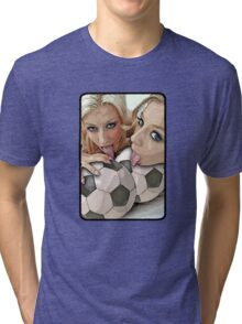 Blessed are the ball lickers Tri-blend T-Shirt
