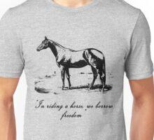 Horse Champion Colt Over Vintage Dictionary Page Unisex T-Shirt