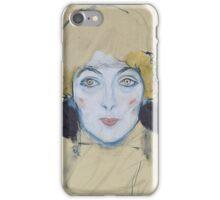 Klimt - Head Of A Woman iPhone Case/Skin