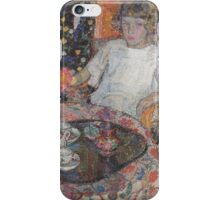 Leon De Smet - A Girl By The Table  iPhone Case/Skin