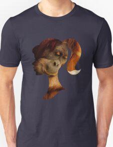 Orangutan Hides in Barbie Girl's Soul Unisex T-Shirt