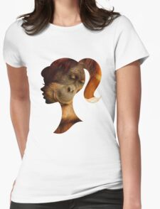 Orangutan Hides in Barbie Girl's Soul Womens Fitted T-Shirt