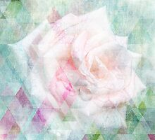 Triangle Rose - Dreiecks Rose Shabby Style by Martina Cross