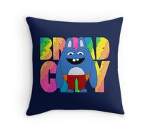 Broad City Bingo Bronson Throw Pillow
