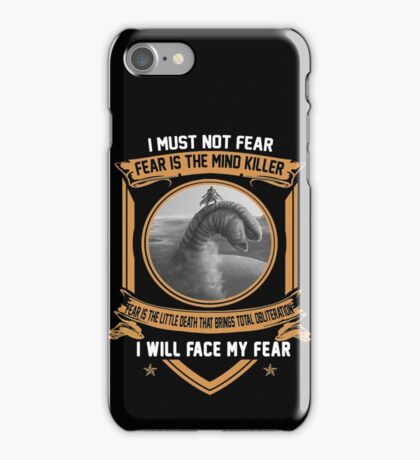 I must not fear iPhone Case/Skin