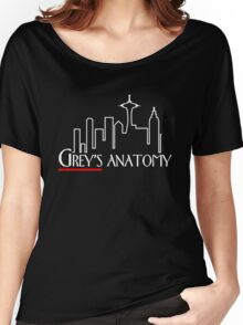 Grey's Anatomy x Frasier – Seattle TV Mashup Women's Relaxed Fit T-Shirt