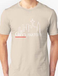 Grey's Anatomy x Frasier – Seattle TV Mashup Unisex T-Shirt