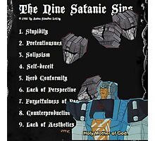 transformers sins (I do not own transformers) Photographic Print