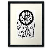 Goetia - Naberius Framed Print